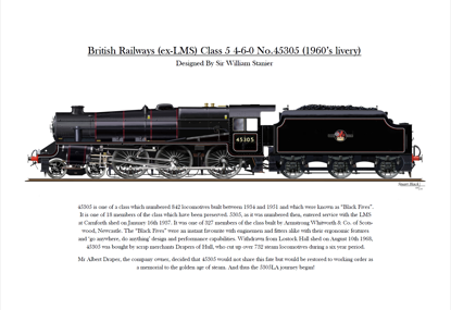 Picture of 5305 Print BR Livery
