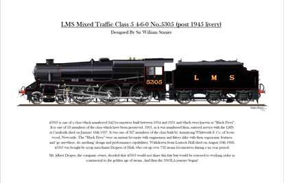 Picture of 5305 Print LMS Post 1945 Livery