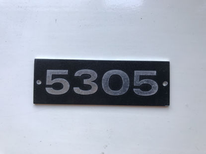 Picture of 5305 Metal Number Plate