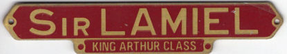 Picture of Sir Lamiel Etched Nameplate